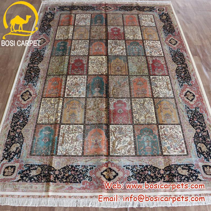 4x6ft bosi quatre saisons a la main inde pas cher prix tapis de soie buy tapis de soie tapis de soie fait main tapis indien product on alibaba com