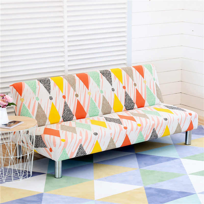 l shape protective home stretch sofa covers bed cover futon slipcover full folding elastic armless sofa protector cover buy all inclusive elastic
