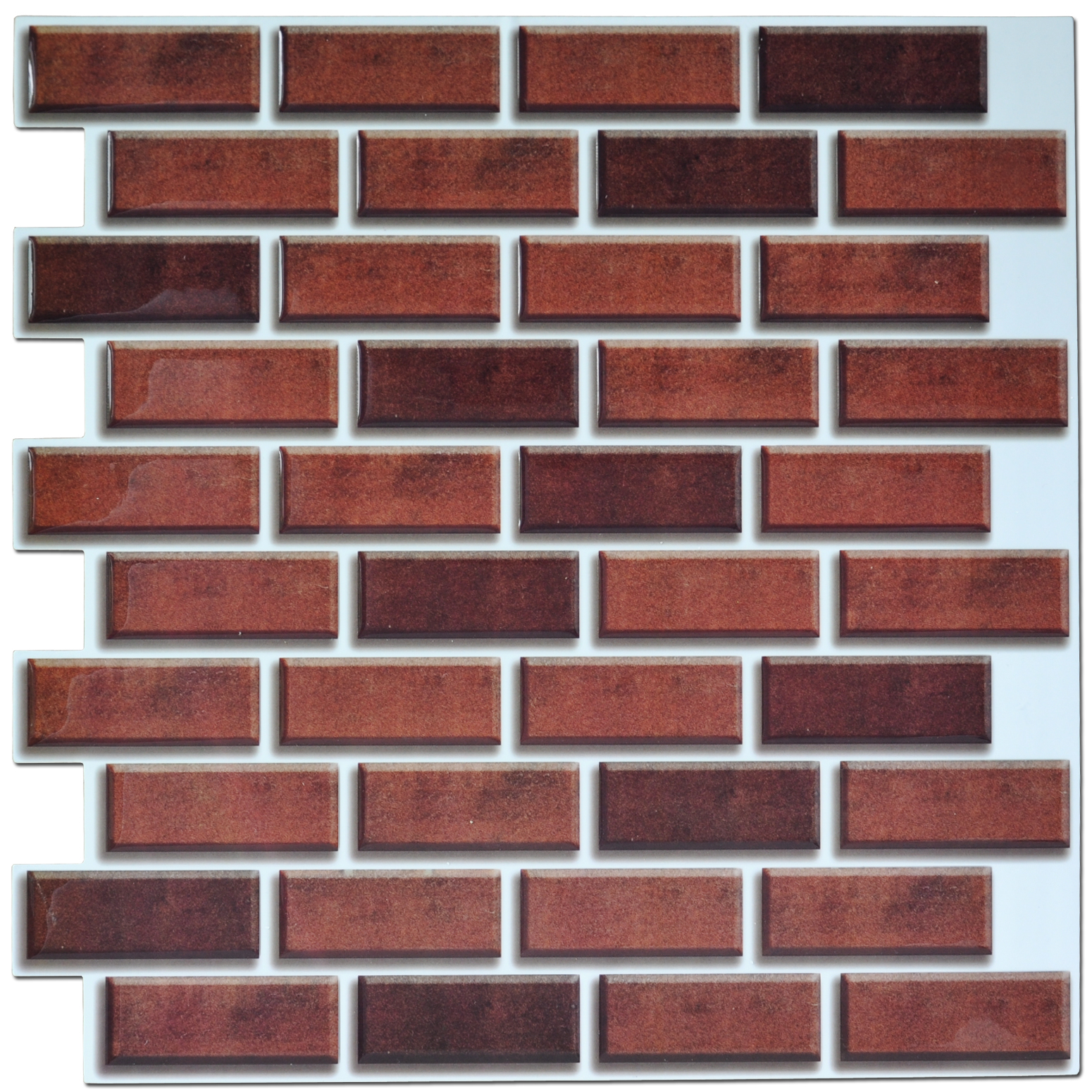 3d smart wall tiles metro brick effect smart tiles lowes buy red brick wall tile red brick wall tile facing brick wall tile product on alibaba com