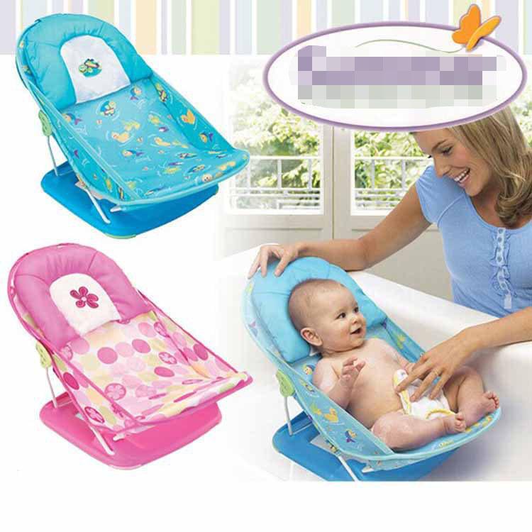 chaise de bain pour bebe fauteuil de bain avec oreiller pliable lit de bain ajustable 2 engrenages buy chaise de bain pour bebe product on