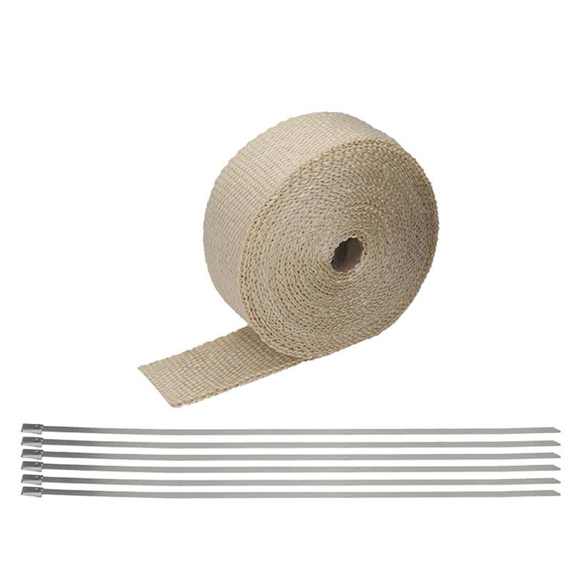 fiberglass exhaust pipe insulation tape exhaust insulating wrap titanium buy fiberglass exhaust pipe insulation tape exhaust insulating wrap