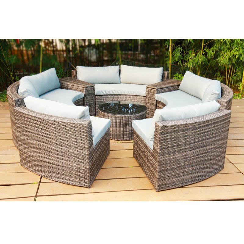 outdoor rattan garden patio kd round sofa bed outdoor furniture rattan cane furniture garden sofa rattan furniture latest design buy outdoor