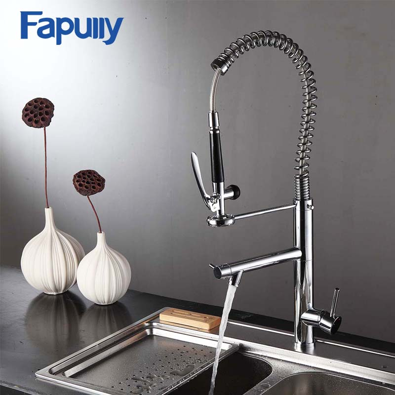 fapully griferia pull out three way kitchen tap torneira rv kitchen sink faucets buy kitchen sink faucets rv ktichen faucet grifo cocina product on alibaba com