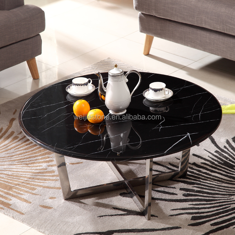 black marble top dining table black