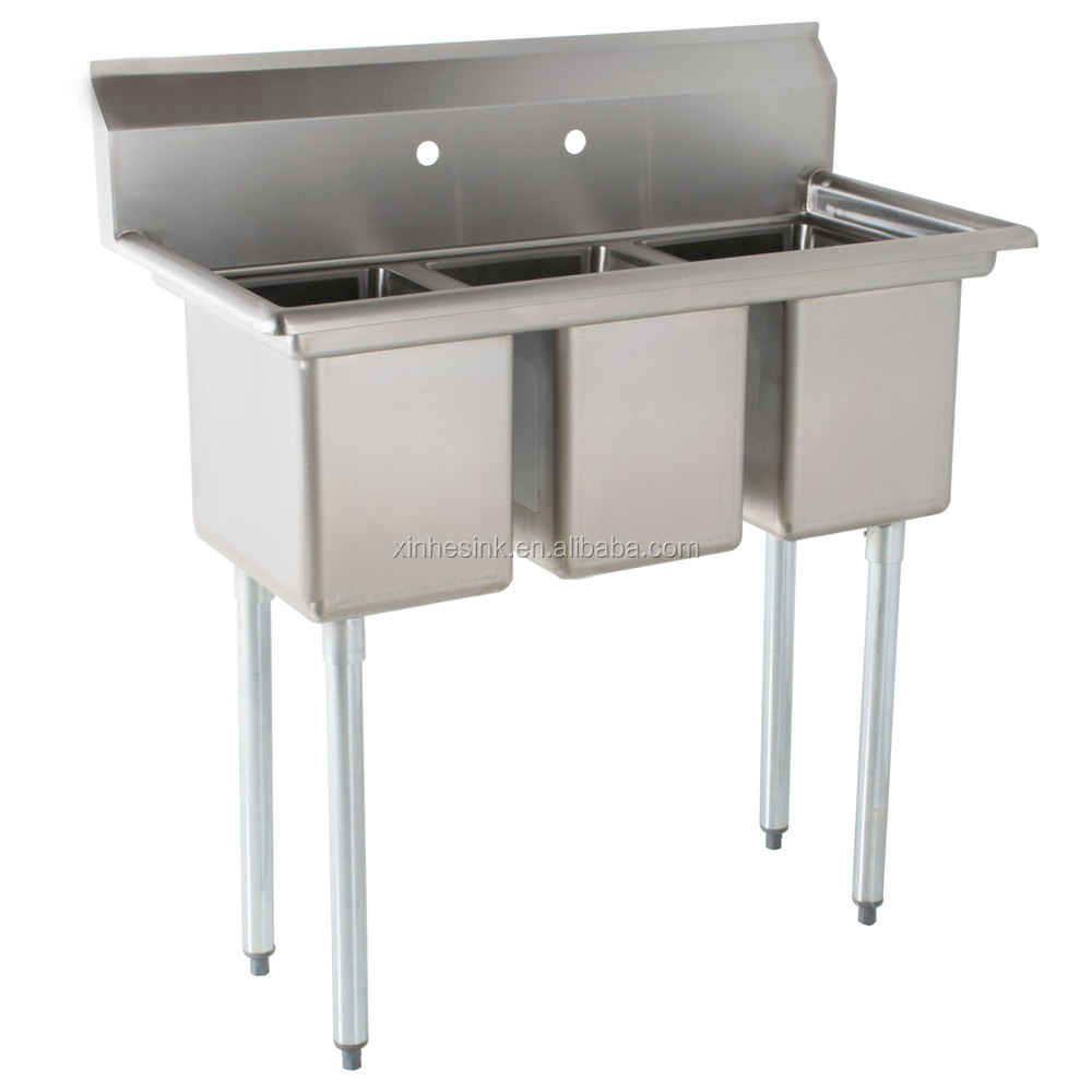 3 three bowl commercial stainless steel compartment sink for us restaurant kitchen buy 3three bowl commercial stainless steel compartment kitchen