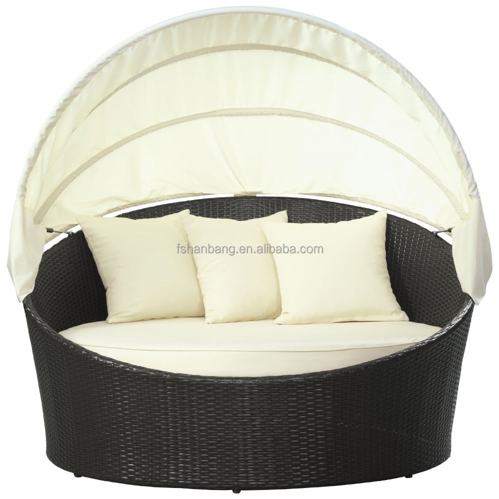 outdoor wicker daybed round with canopy buy outdoor daybed wicker sectional canopy day bed lounge patio deck set furniture product on alibaba com
