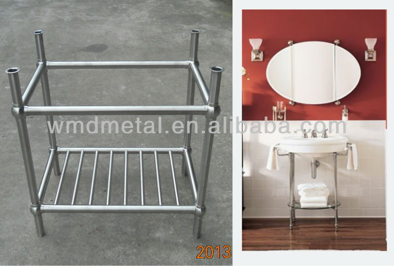 stainless steel bathroom vanity stand buy stainless steel sink stand floor standing stainless steel bathroom cabinet kitchen steel stand product on