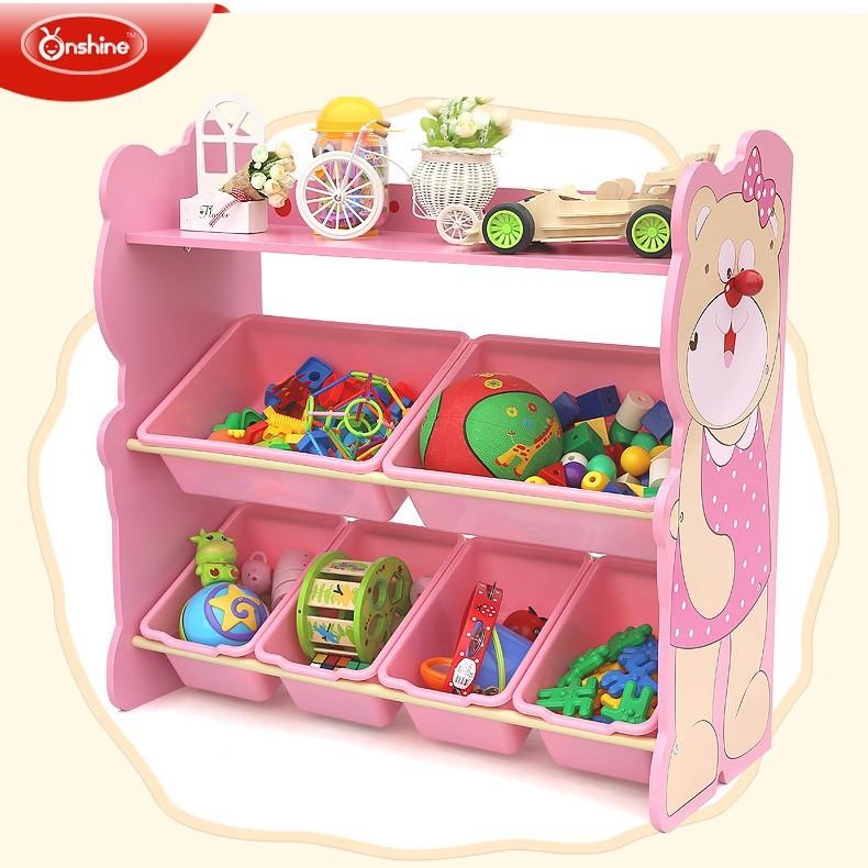 new style wooden toy storage shelf with bins kids toy storage rack view kindergarten toys shelf onshine product details from guangzhou s up kids
