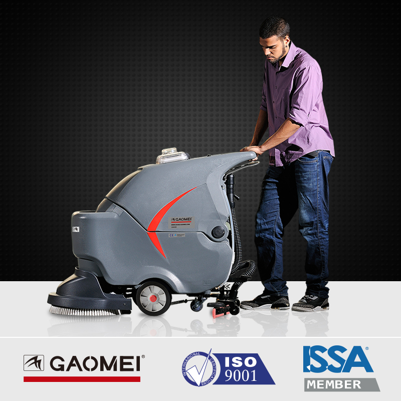 hand push auto ceramic tile floor cleaning machine commercial view floor cleaning machine gaomei product details from hefei gaomei cleaning