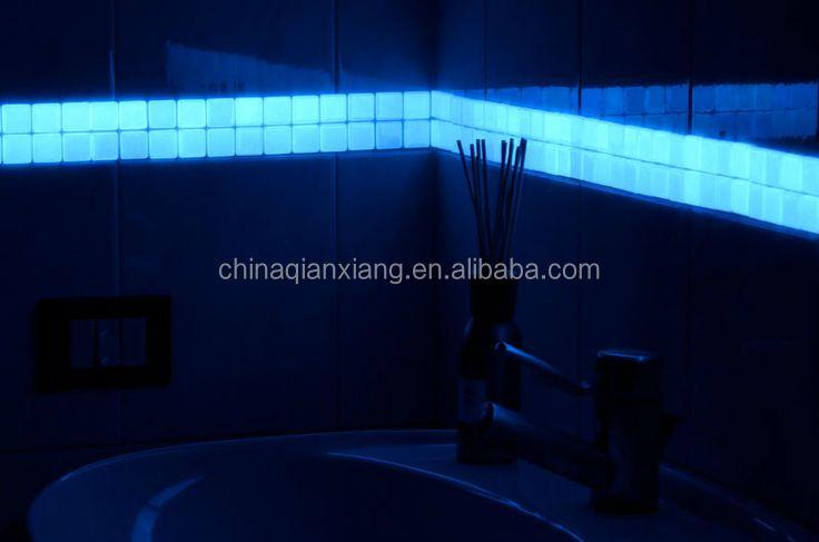 grosshandel glow in the dark fliesen fluoreszierende glas mosaik buy glasmosaik product on alibaba com