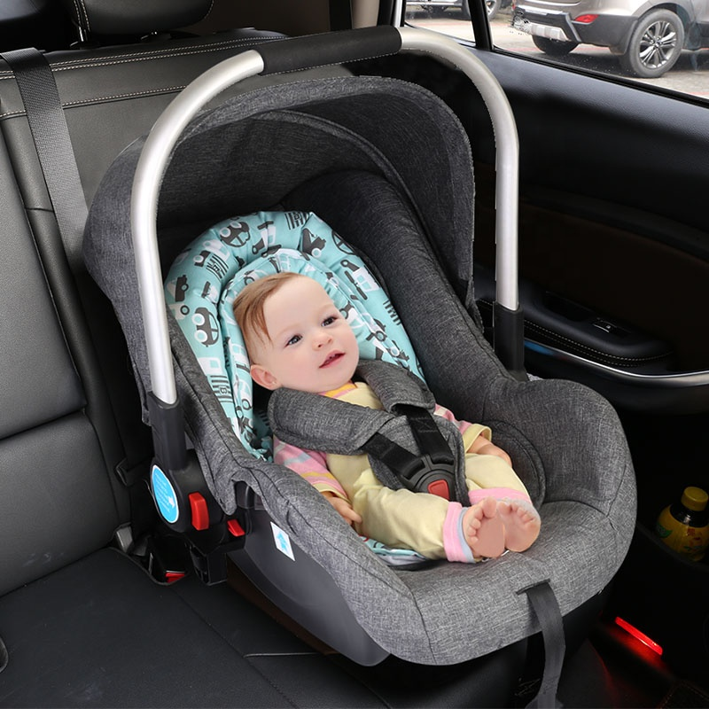 portable blue soft material cotton baby head support pillow baby car seat head support buy baby car seat head support head support pillow baby head