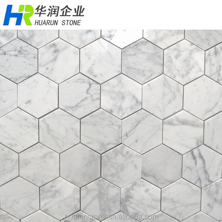 marbre blanc bianco carrara marbre petite carreaux hexagonaux buy carrelage en marbre hexagone marbre de carrare petit hexagone carreau de mosaique