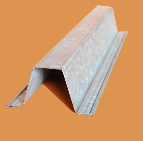 Galvanized Steel Top Hat Metal Roof Batten Buy Metal Roof Batten Roofing Batten Metal Furring Product On Alibaba Com