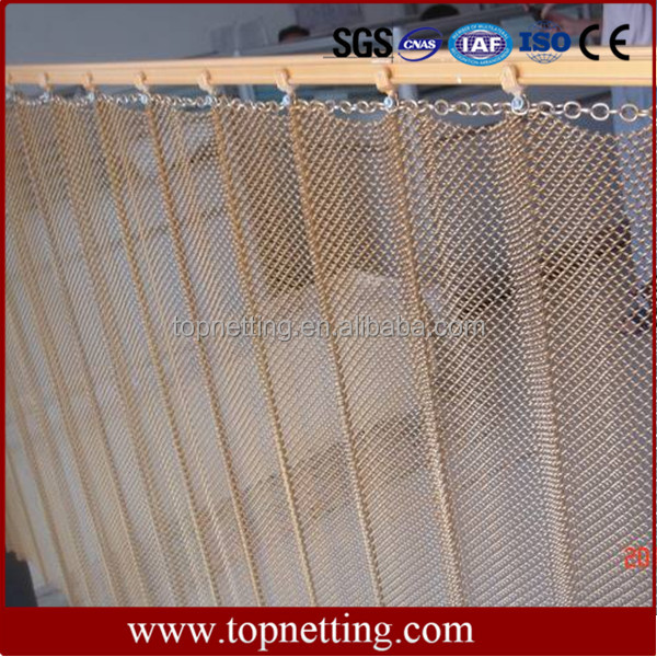 metal architectural cascade coil metal mesh curtain drapery metal mesh shower buy wire mesh shower curtain decorative metal mesh drapery metal
