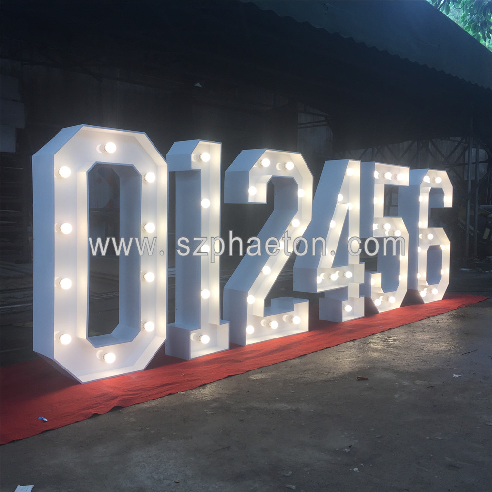large light up numbers big marquee letters for wedding with led lights buy shenzhen factory direct supplier led raised letter sign giant light up