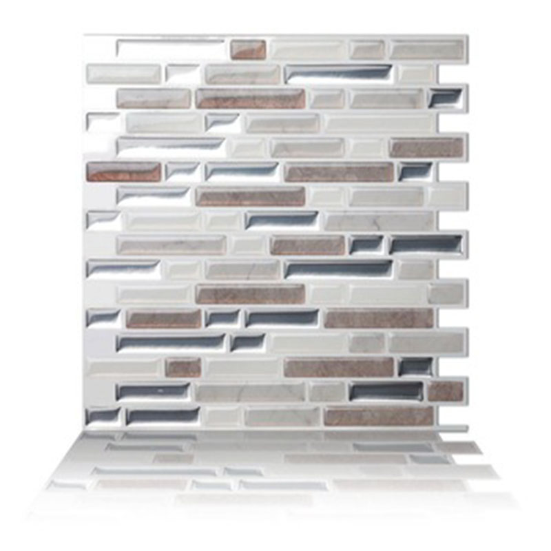 the best backsplash tile textured subway in a metallic pearl white colorway sticky wall sticker for kitchen bathroom buy purple subway tile grey