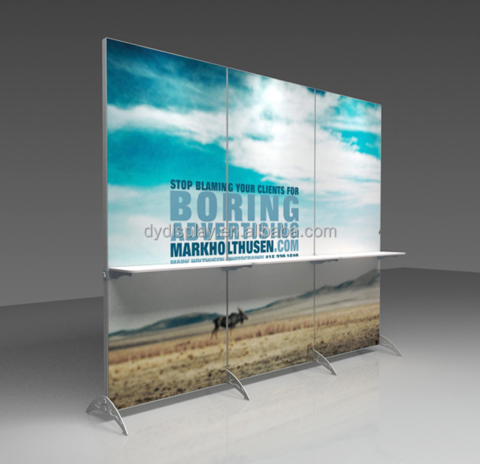 aluminum booth trade show exhibition poster display banner stand buy display banner stand exhibition modular display stands poster board stands