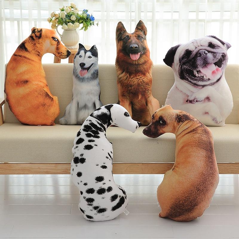 3d simulation dog pillow dalmatian plush cushion office napping removable golden retriever animal pillow buy 3d dog pillow animal pillow 3d
