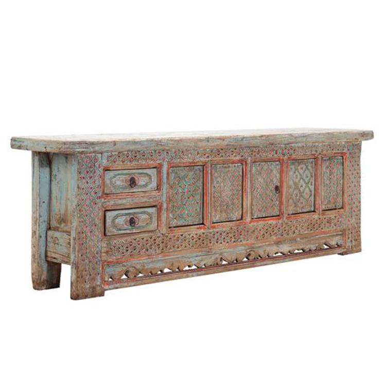 support tv en bois de style sinkiang meuble tv pour salon style oriental buy tv stand cabinet living room cabinet living room tv cabinet designs