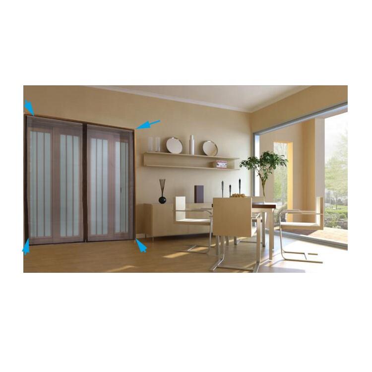 retractable close big size magnetic patio garage screen door buy fiberglass screen magnetic screen door retractable garage screen door product on