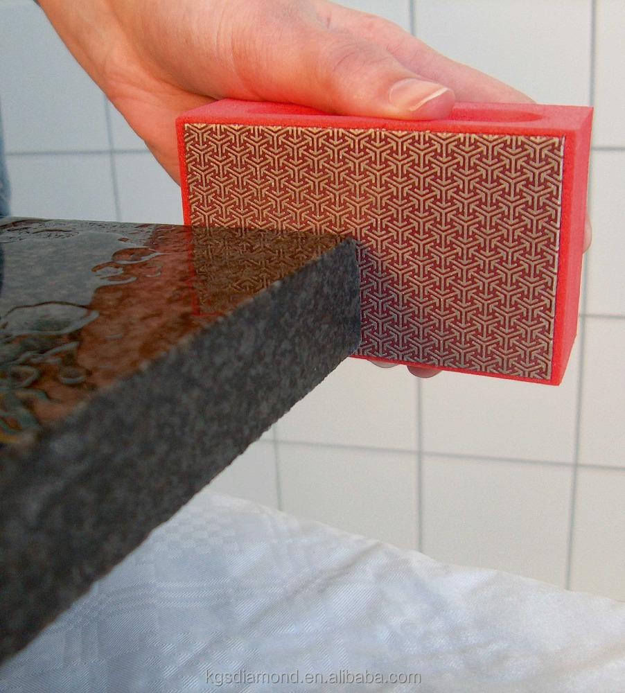 kgs diamond hand sanding pads foam backed glass polishing pad stone ceramic tile grinding buy marble polishing pads nano polishing ceramic