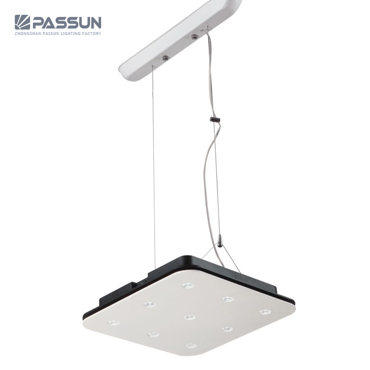 commercial lighting fixtures meeting room office round ceiling hanging chandelier lamp led pendant light buy interior modern square led pendant lights ceiling chandelier led pendant lamps indoor contemporary pendant lamp product on alibaba com
