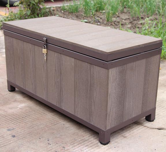 wpc waterproof outdoor storage bench buy garden storage bench patio storage bench high quality storage bench product on alibaba com