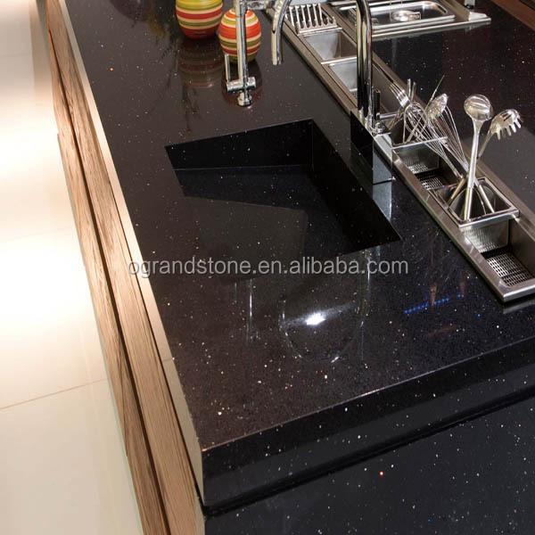 black sparkle quartz stone tiles for kitchen countertop dining table top buy black sparkle quartz tiles kitchen countertop dining table top product