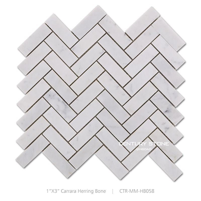 white carrara herringbone mosaic marble tiles floor pattern buy herringbone mosaic tile white carrara herringbone mosaic marble herringbone mosaic