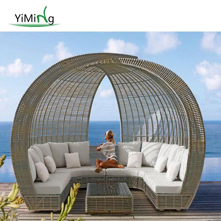 leisure ways patio furniture rattan outdoor sectional sofa u shape garden sofa buy hotel patio lounge set plastic rattan garden outdoor furniture