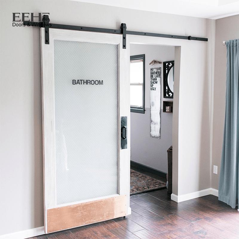 porte coulissante en bois massif pour cuisine cadre en verre depoli interieur 1 piece buy porte interieure en verre depoli porte interieure en bois