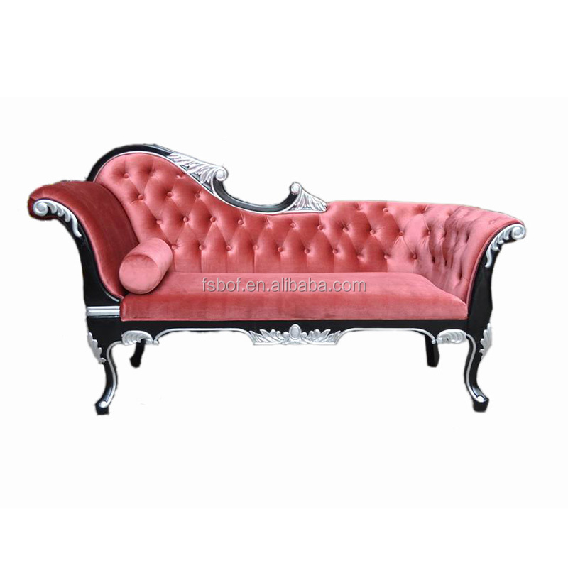 french classic furniture chaise lounge chair indoor solid wood fabric red chairs v021 buy french chaise lounge chair indoor chaise lounge