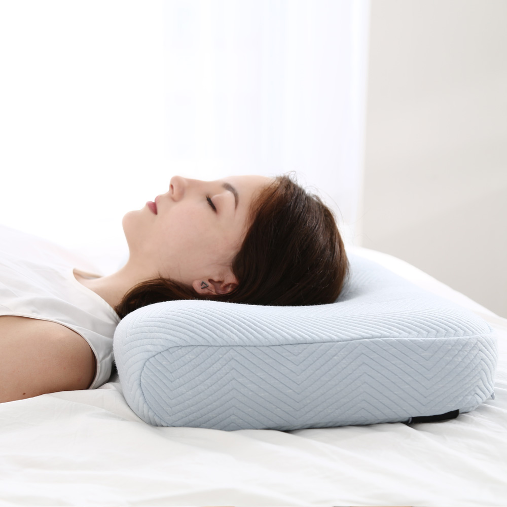new patented natural traction pillow bed rest anti wrinkle cervical contour sleep memory foam pillow health buy allergy free medical pillow decorative ergonomic pillow wholesale relaxing organic luxury health care sleep memory