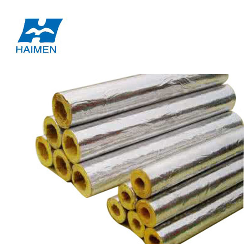 waterproof fireproof construction material exhaust glasswool pipe insulation buy glasswool pipe insulation waterproof fireproof construction
