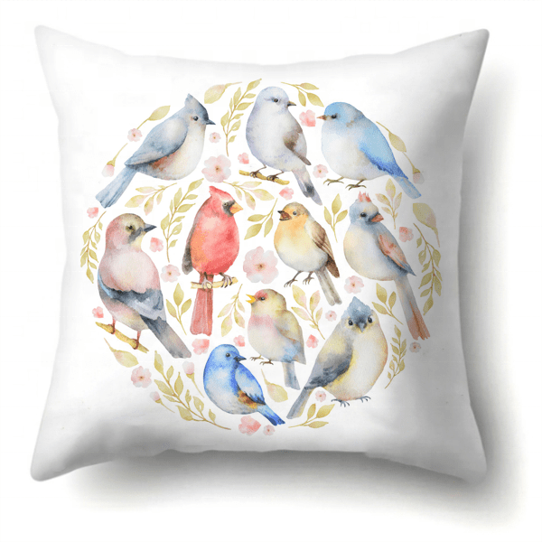 custom outdoor furniture cushions cover birds printed pillow cover buy birds print pillow covers bird print cushion covers custom size pillow covers