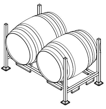 stable wine barrel rack buy wine barrel rack barrel rack product on alibaba com