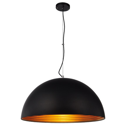 black gold modern design half circle high quality factory price pendant lamp for hotel restaurant buy modern dining pendant lamp large semicircle
