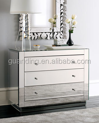modern mirrored bedside chest mirrored nightstand bedroom 3 drawer nightstand chest mirror bedside 3 drawer buy beside chest mirrored nightstand