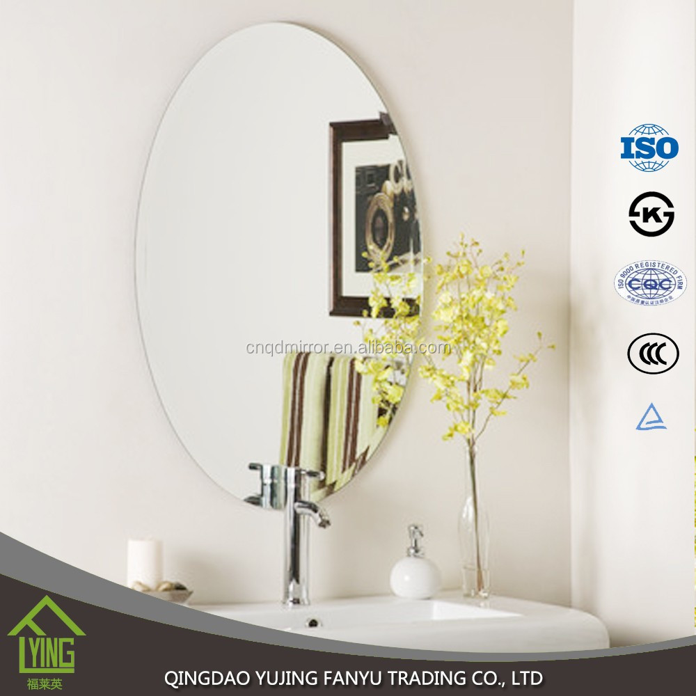 3mm prix usine pas cher miroir de salle de bain sans cadre miroir mural decoratif buy decoratif mur miroir miroir de salle de bain bon marche miroir