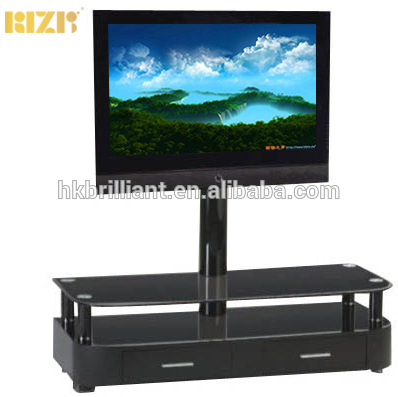 haute qualite salon meubles meuble tv moderne en bois avec support tv pour 25 60 d affichage a cristaux liquides tv buy telescopique tv support