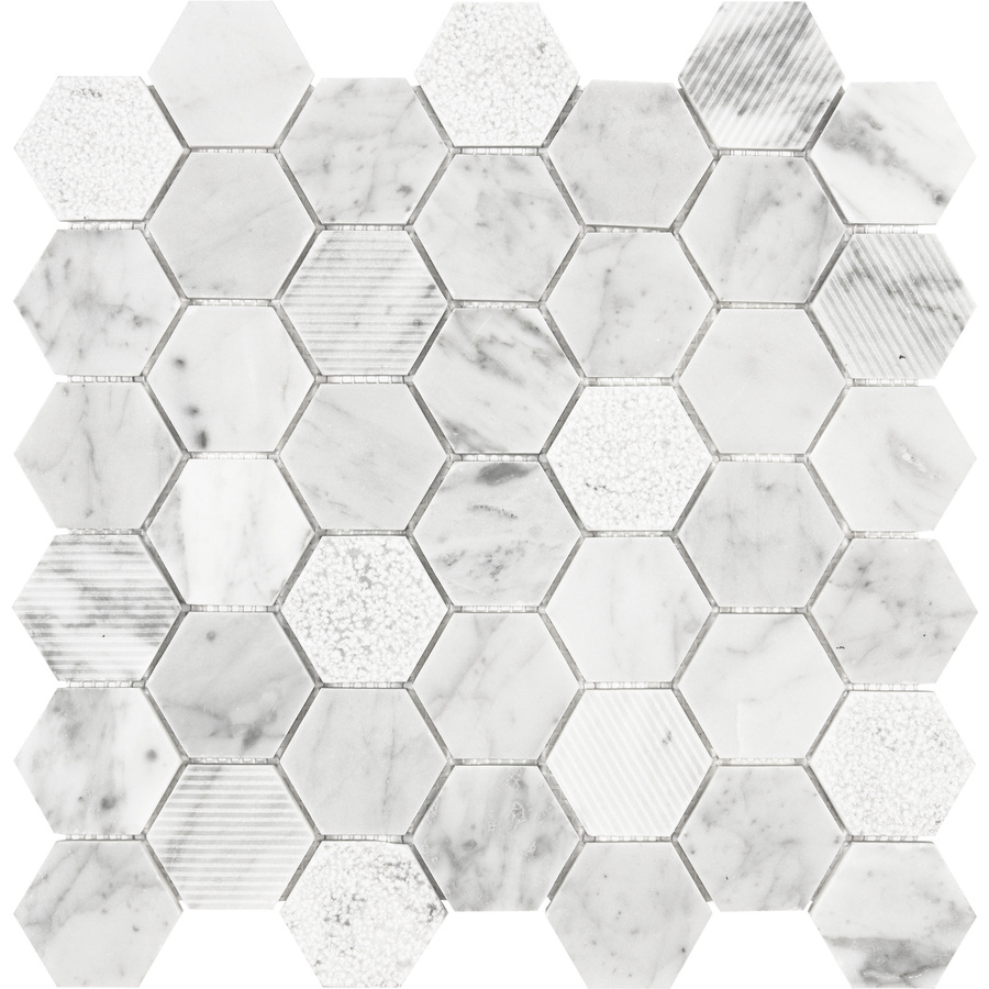 decorstone24 italy white hexagon tile carrera marble tile mosaic for backsplash buy white hexagon tile carrera marble tile hexagon tile