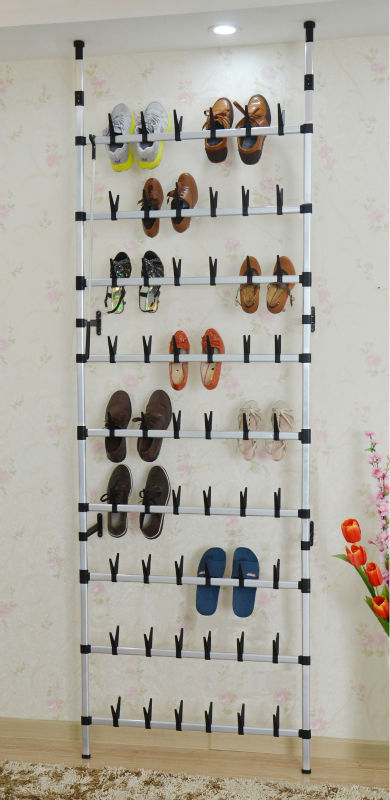 wall mounted metal shoe rack for 30 pair rolling shoes racking buy wall mounted metal rack wall mounted metal boot rack metal door hanging shoe rack