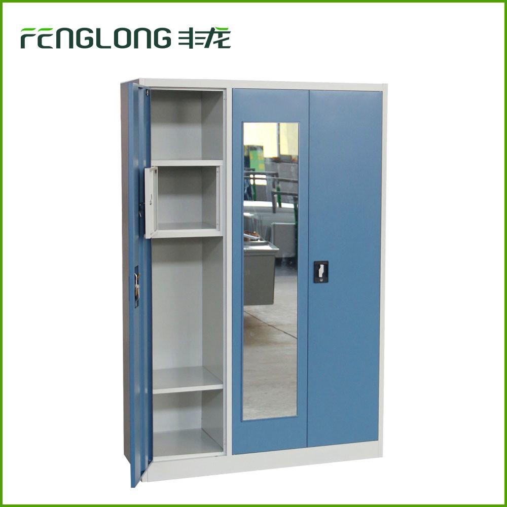 ikea 3 porte des vetements metalliques armoires de rangement en metal casier buy armoire de rangement des vetements product on alibaba com