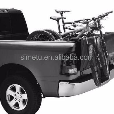 truck bed bike rack for protection bike surfboard rack buy truck bike rack truck crash pads truck tailgate transport racks product on alibaba com