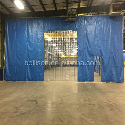 temporary workshop warehouse pvc vinyl plastic industrial side curtains wall divider buy industrial side curtain warehouse curtain curtain wall
