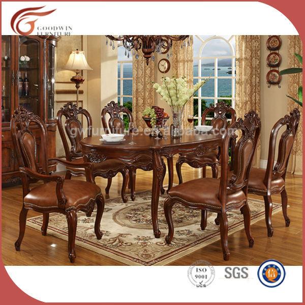 pas cher 8 places en bois salle a manger ensemble mobilier classique a115 buy ensemble de salle a manger meubles de salle a manger de luxe meubles