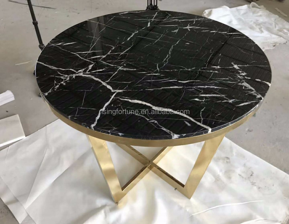 custom made black marble round coffee table buy marble top marble coffee table marble table top product on alibaba com
