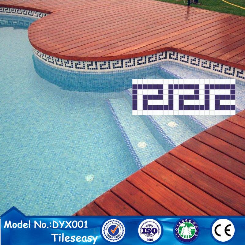 decorative ceramic blue mosaic tile trim pool waterline tiles buy decorative tile trim pool waterline tiles waterline mosaic product on alibaba com
