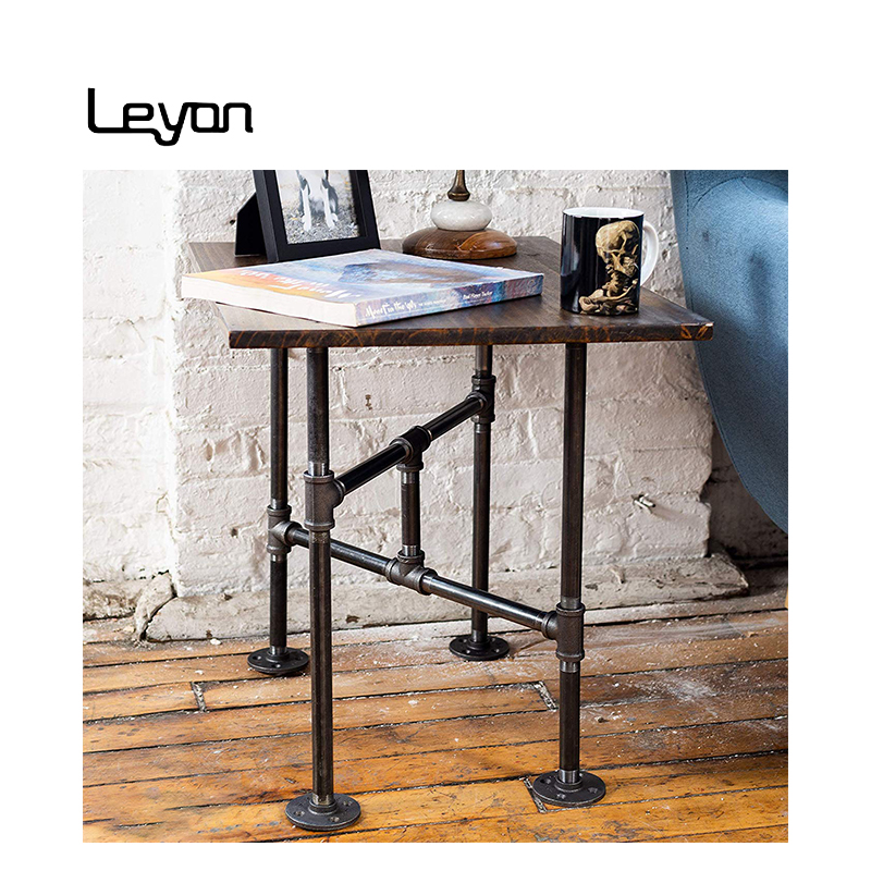 industrial pipe home decoration furniture table legs malleable iron flanges and pipes for diy coffee table legs buy 6 flange dimensions 60 degree