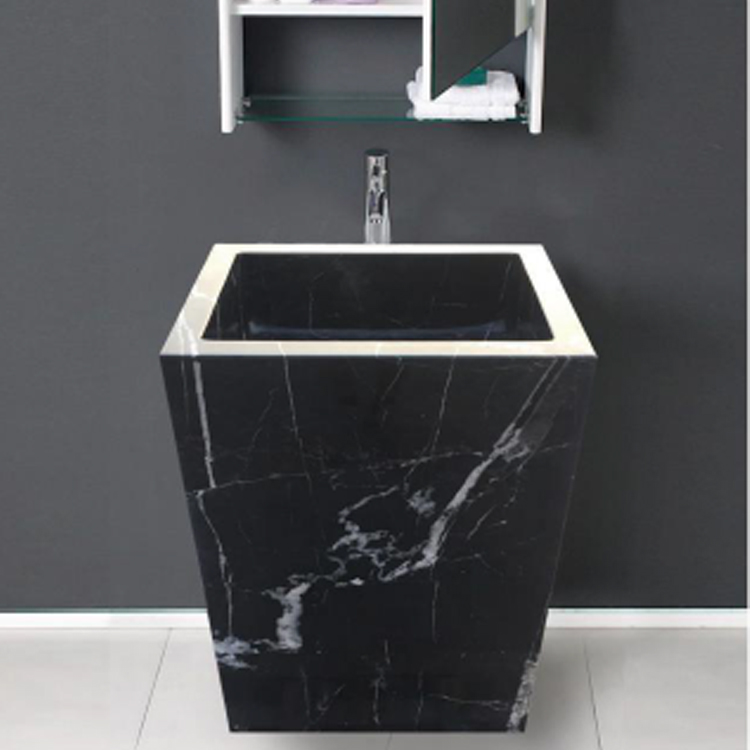 black marble pedestal sink for sale buy unique pedestal sinks cheap pedestal sinks marble pedestal sink free standing sink product on alibaba com